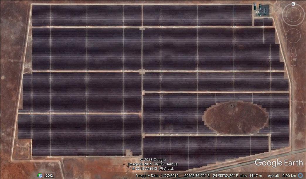 Solar power stations